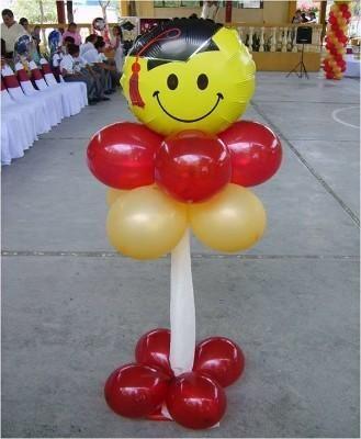 adornos con globos para graduacion universitaria Discipulado