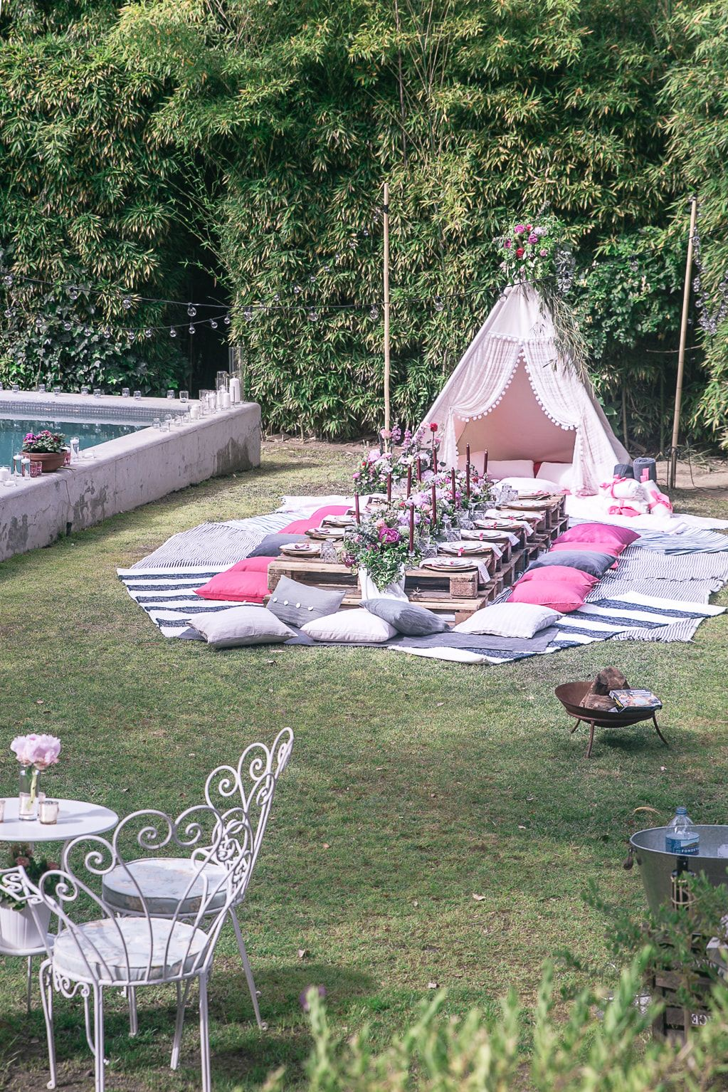 A Boho Summer Party By The Belle Blog Summer Party Decorations