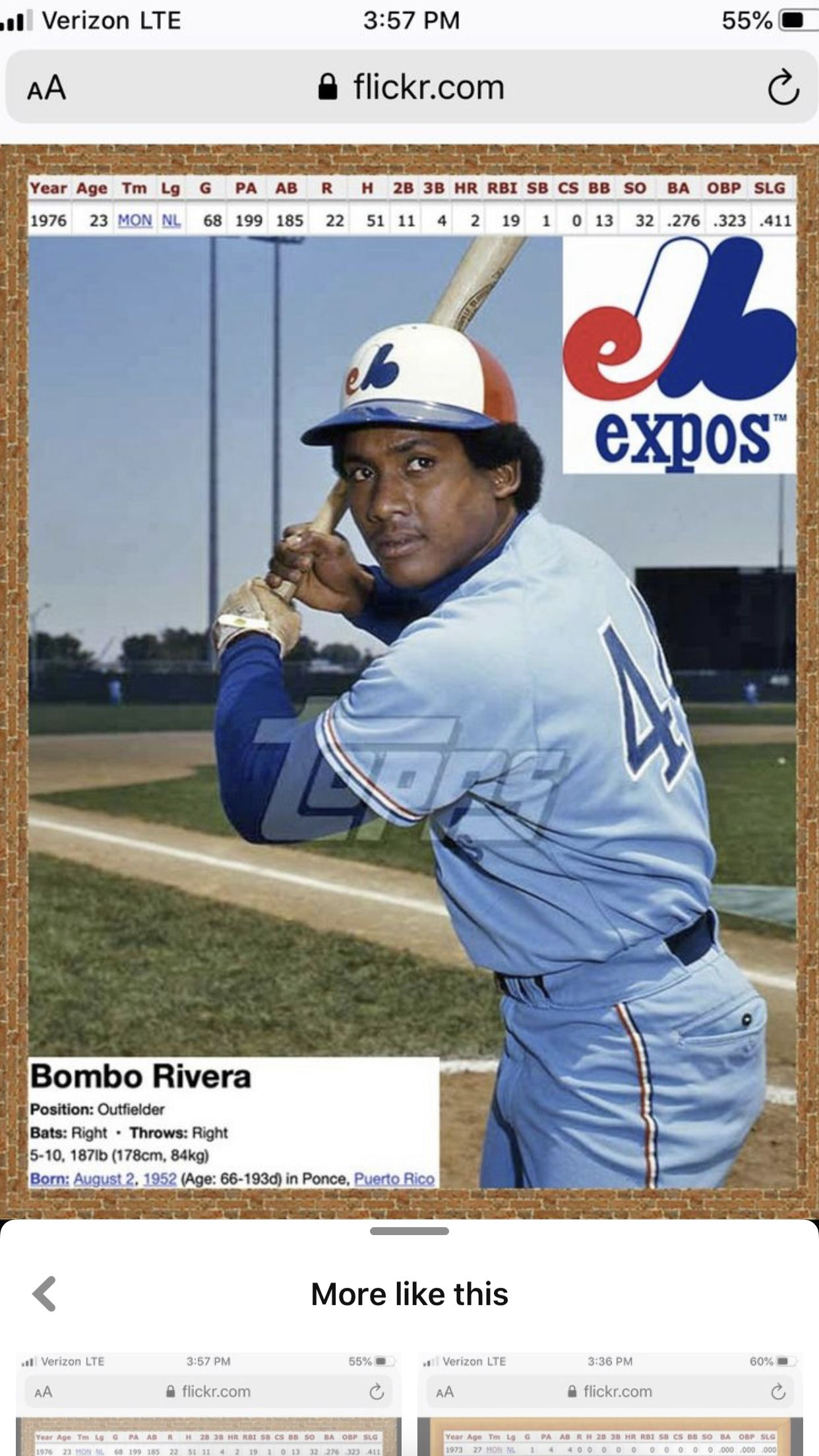 Pin By Marc Brunelle On Baseball Players Who Played Winter Ball In Puerto Rico In 2020 Expos Baseball Cards Baseball