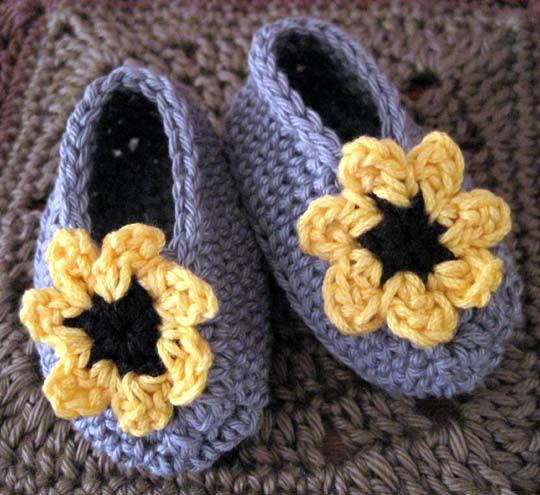 Cheery Cotton Baby Shoes