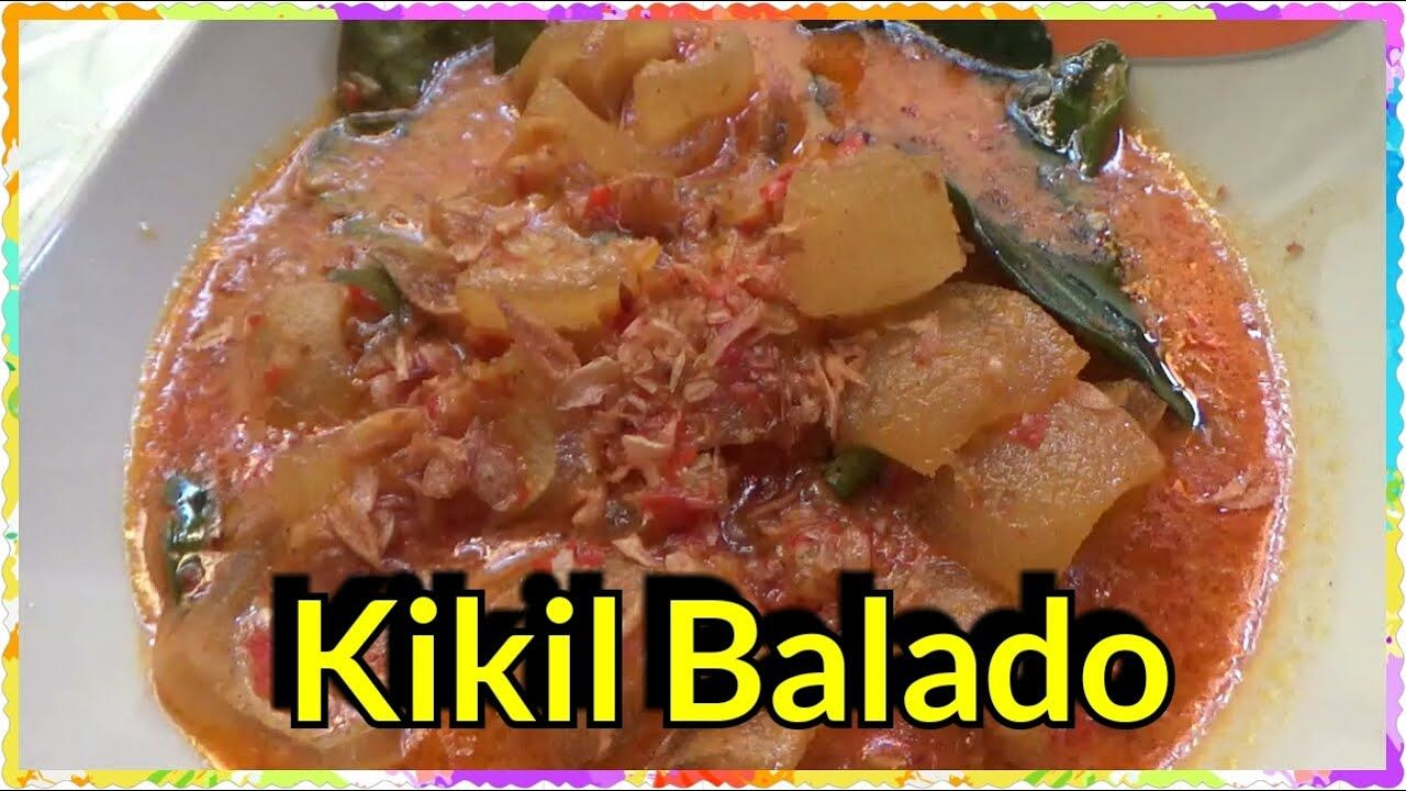Kikil Balado Resep Masakan Rumahan Resep Makanan Memasak Resep Masakan