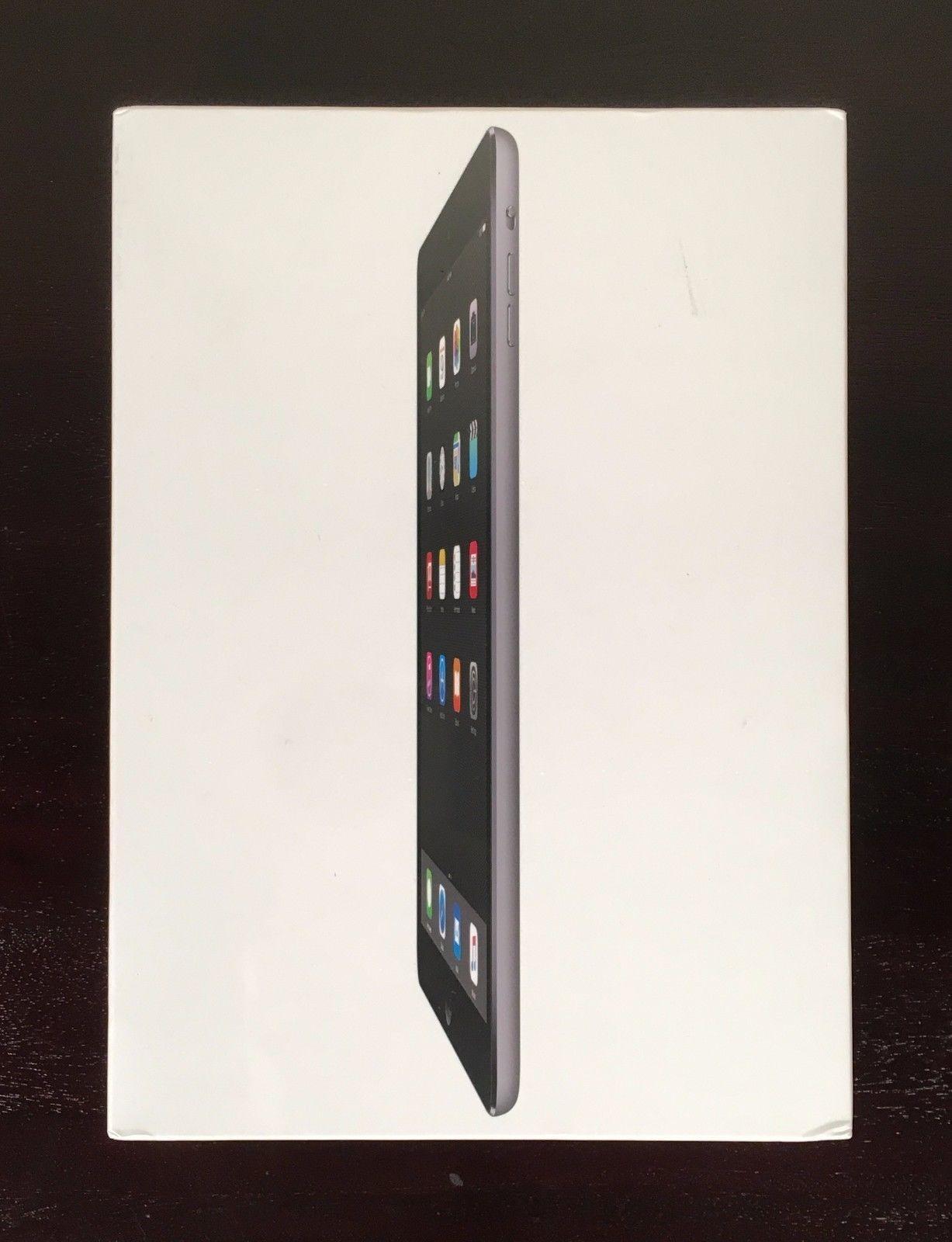 NEW Sealed Apple iPad Air MD785LL/B 9.7-Inch 16GB Wi-Fi Tablet Space Gray