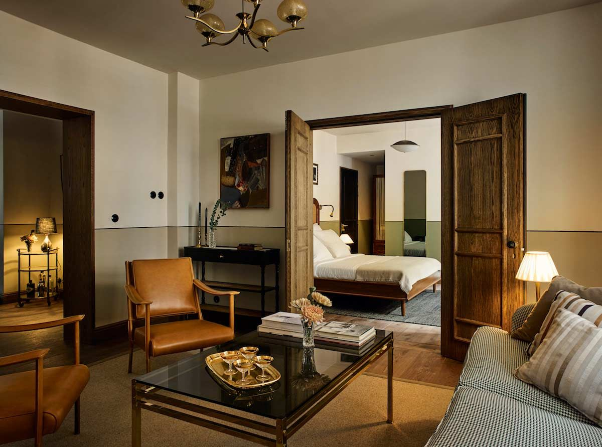 Curated Interiors Of Boutique Hotel Sanders Copenhagen Denmark S Newest A Member White Line Hotels