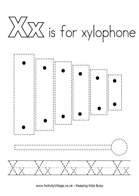 Tracing Alphabet X Alphabet Worksheets Alphabet Preschool