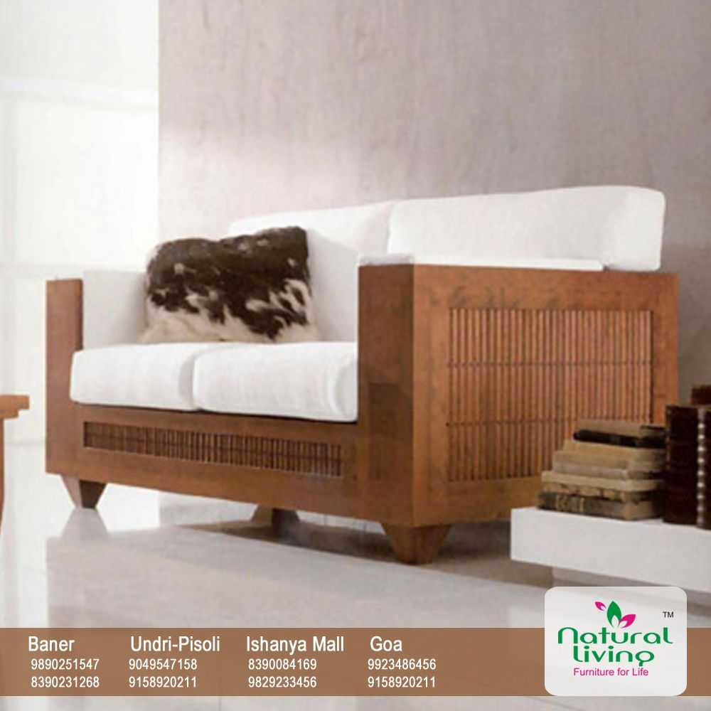 confetto ffertig contemporary living room. Living Furniture Pune. Comfortable Contemporary Wood Sofa Design For Small Room Interior Confetto Ffertig G