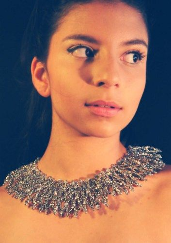 Silver weave statement necklace. NA-CH-003 | NillAhasseJewellery - Jewelry on ArtFire