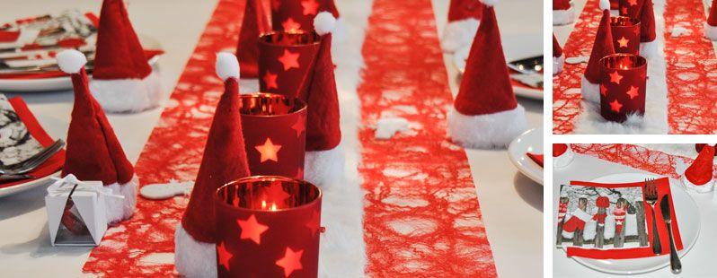 Tischdeko weihnachtsfeier  Nikolausmützen | Tischdeko Weihnachten | Pinterest | Nikolausmütze ...