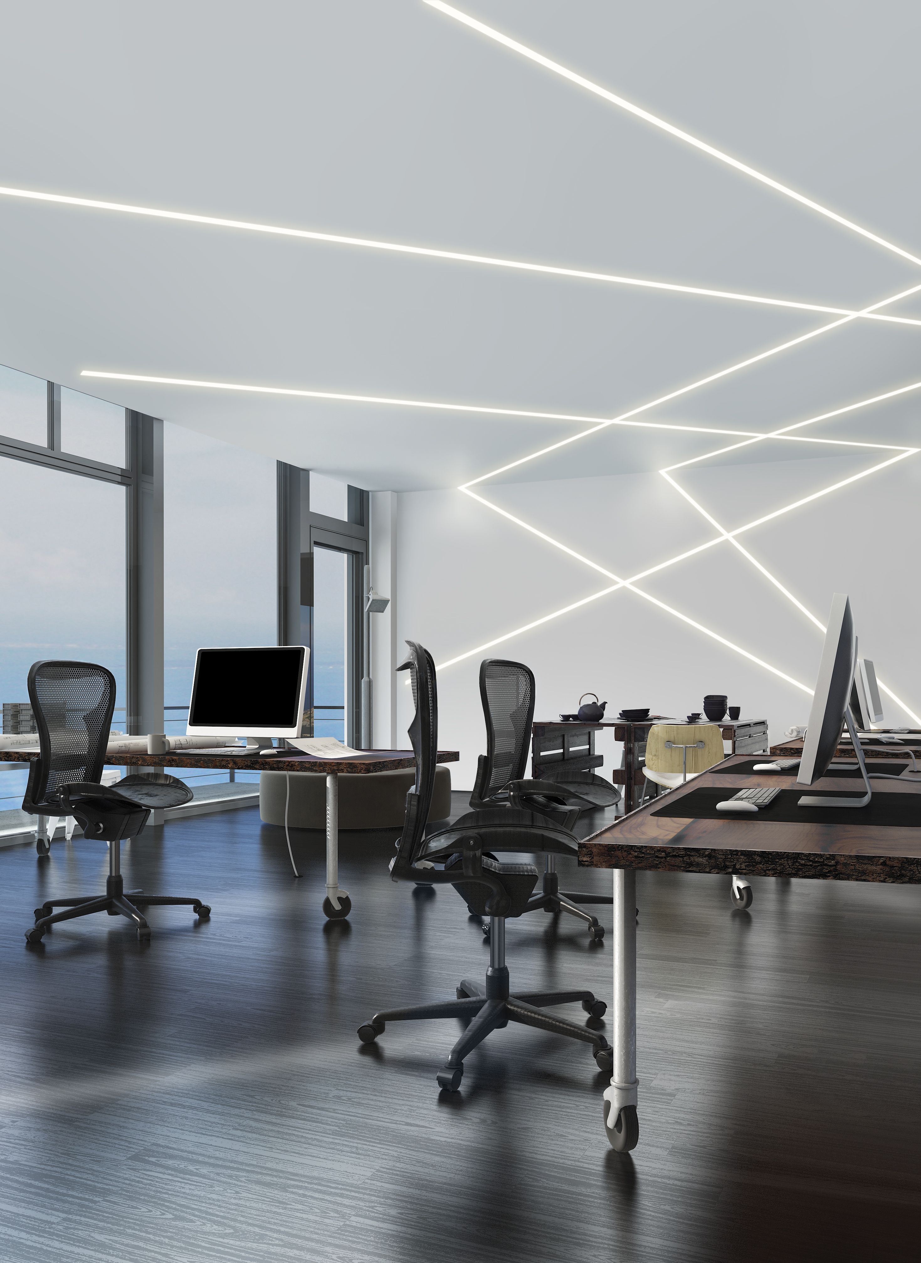 Office Lighting Led Office Lighting Idea Truline 5a By Pure Lighting In