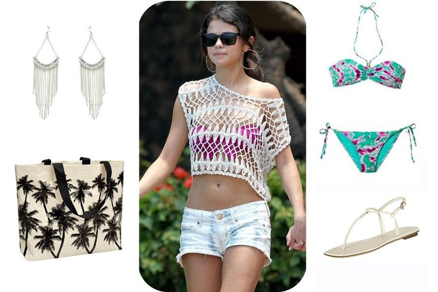 Cute Pool Party Outfit