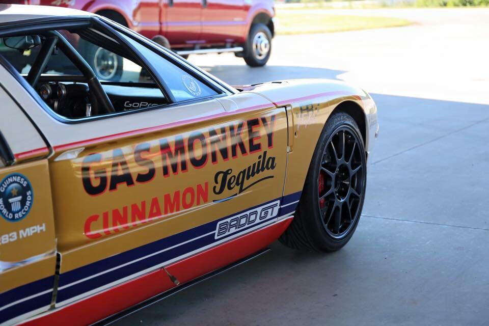 Gas Monkey Cinnamon Tequila Sponsored Ford Gt Commander Cody