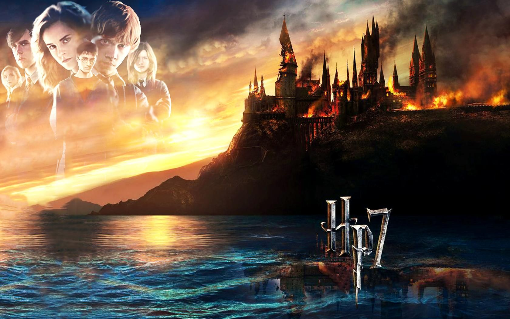 Hermione, Ron And Harry Potter HD desktop wallpaper High
