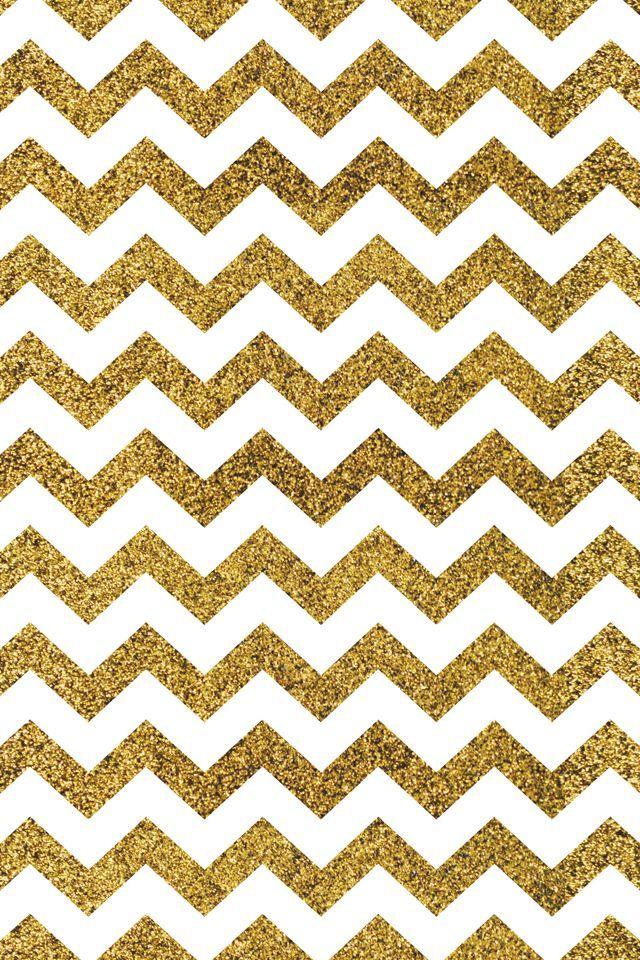 Rose Gold Glitter Wallpaper Chevron Iphone