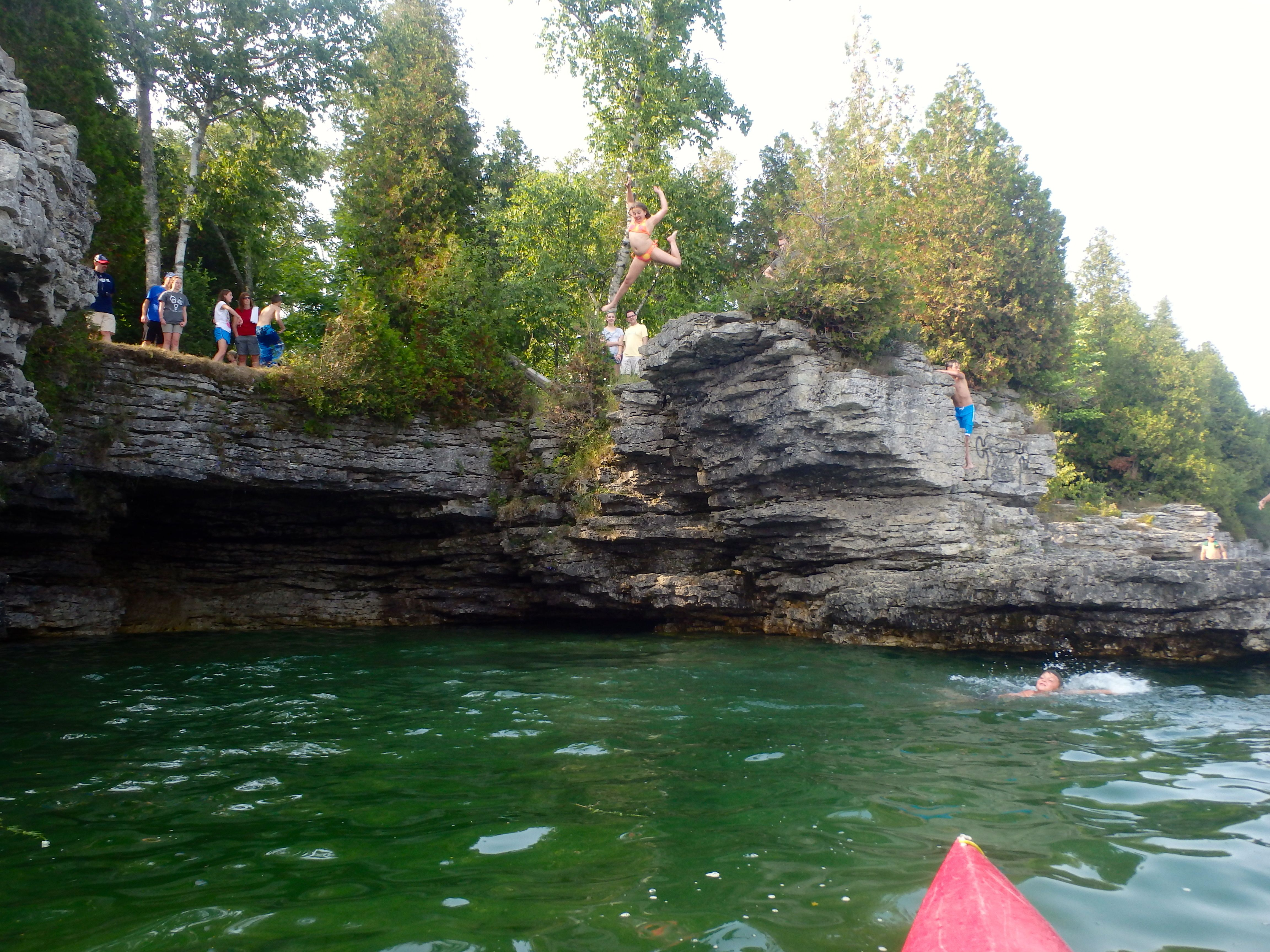 Things To Do In Door County I So Want To Cliff Jump At Cave Point Door County Adventure Is Out There Kayak Tours