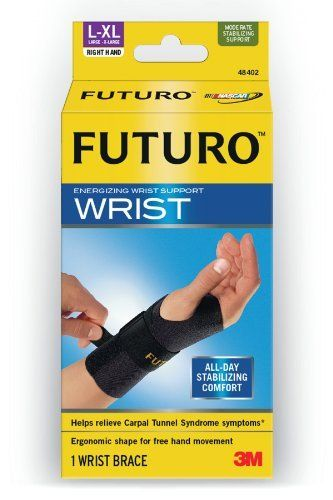Futuro Energizing Wrist Support Right Hand Large Extra Large By Futuro 14 77 Free Your Hands Write Type Wrist Support Carpal Tunnel Syndrome Supportive