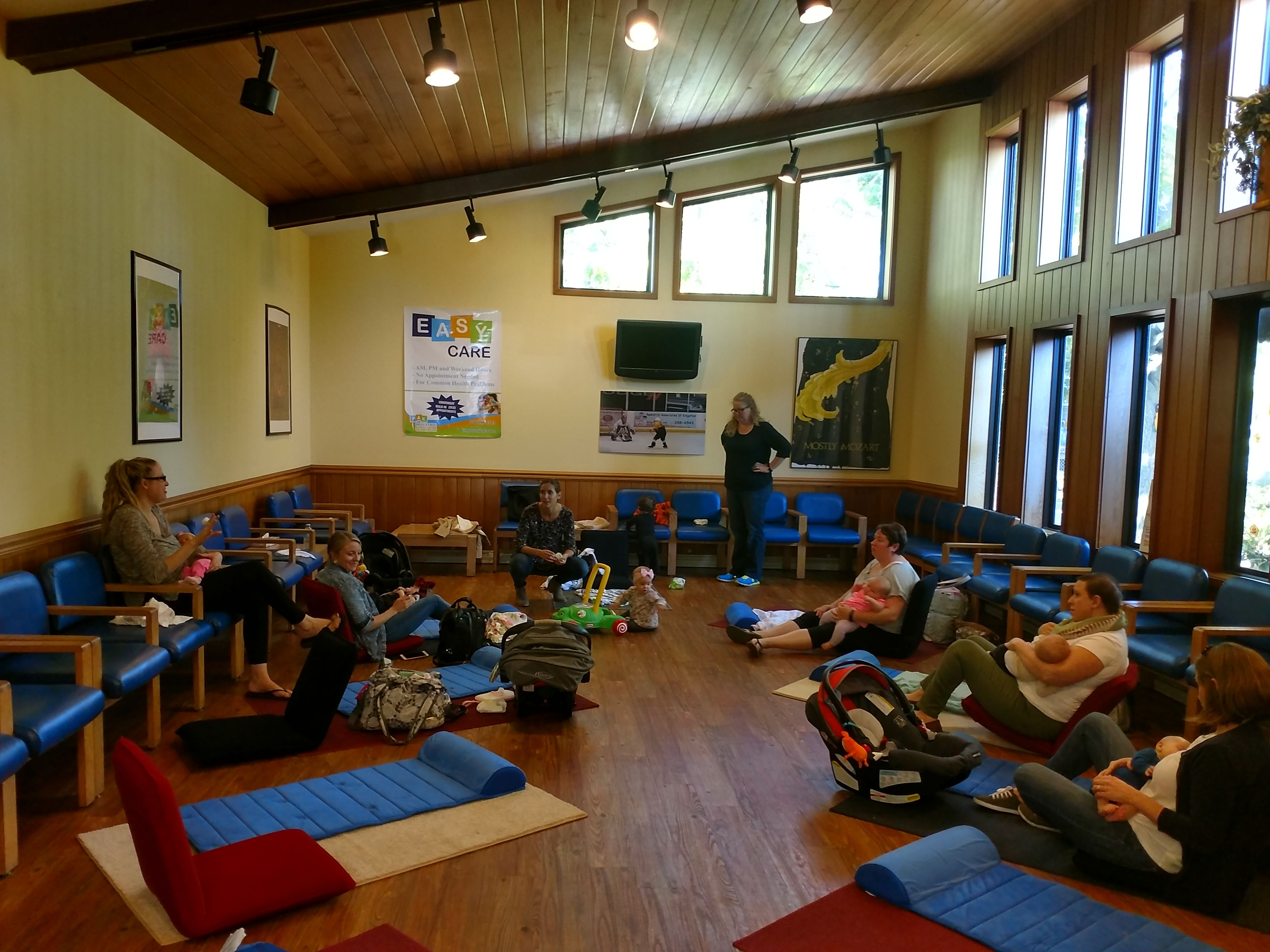 New Moms Social Club meets every Friday and Saturday from