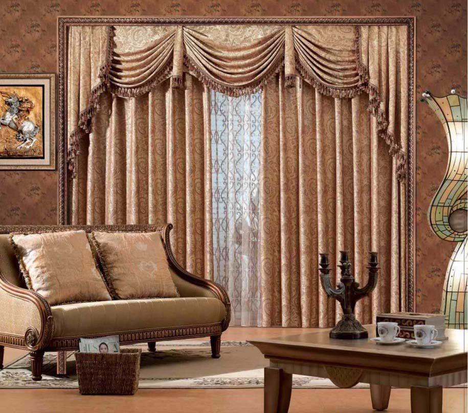 Living Room Curtains Designs Desain Ruang Keluarga Ide Dekorasi