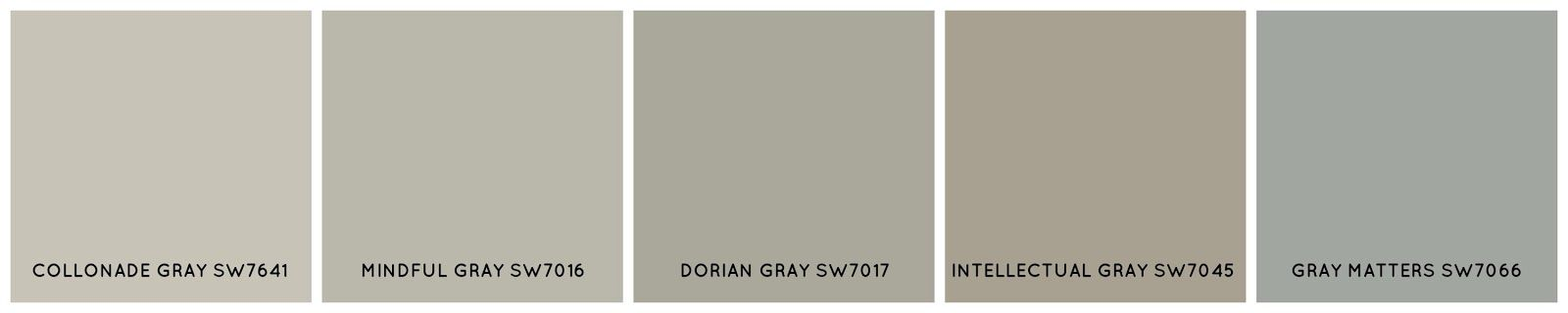 Collonade gray sw7641 a popular greige similar to bm Sherwin williams collonade gray exterior
