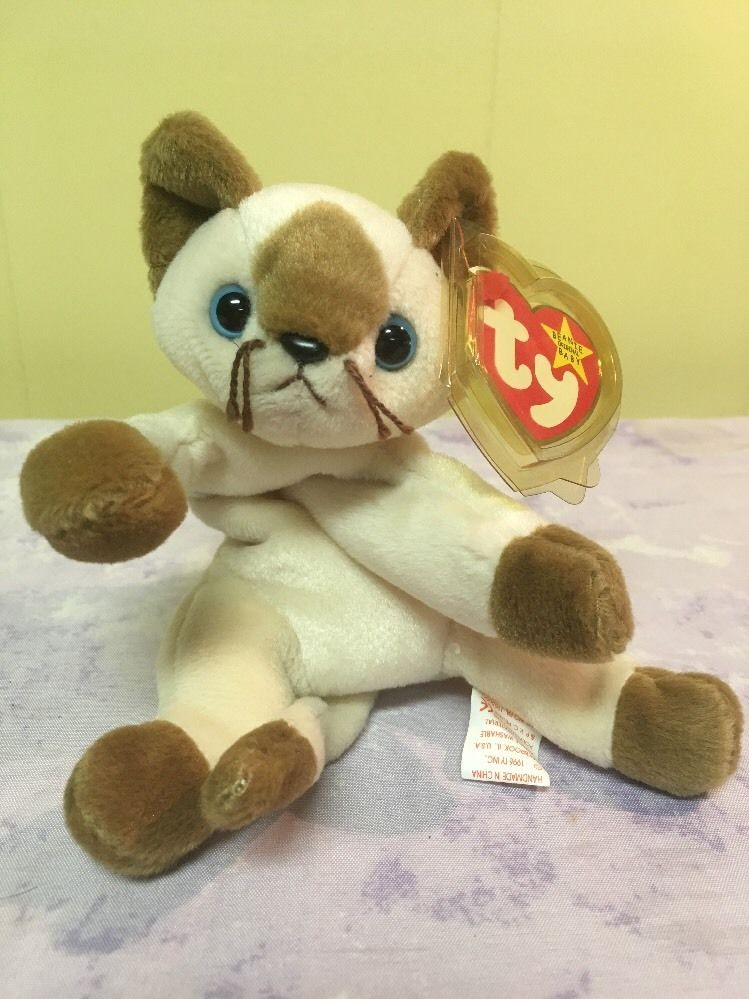 c6c34d96180 TY Beanie Babies SNIP THE CAT Style MINT TY RARE RETIRED  Ty
