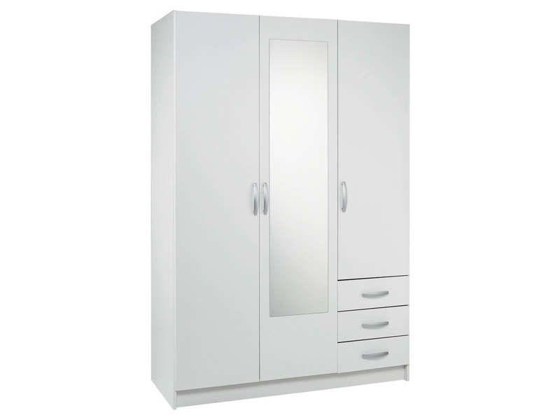 Armoire 3 portes 3 tiroirs Tiroir, Armoires et Spots