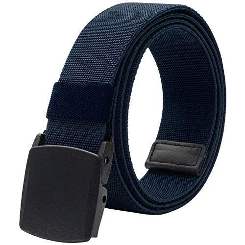 Adjustable Durable Weave Men/'s Belts Nylon Webbing Belt  Grey
