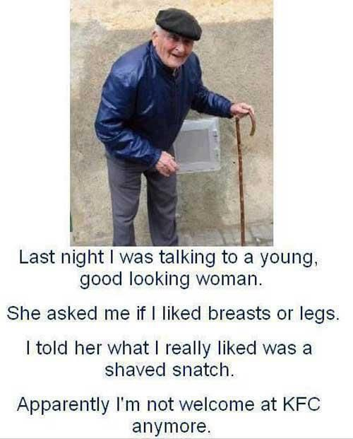 Is this what happens when you get old?