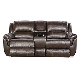 Simmons Laa Espresso Motion Console Loveseat Big Lots