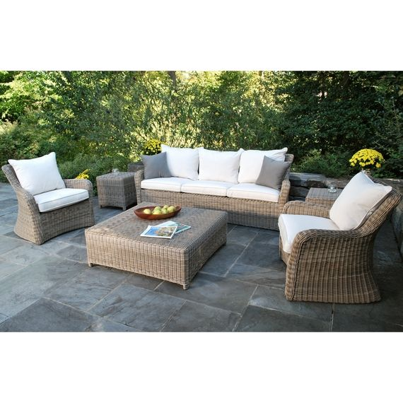 Kingsley Bate Elegant Outdoor Furniture Sag Harbor Chat Table