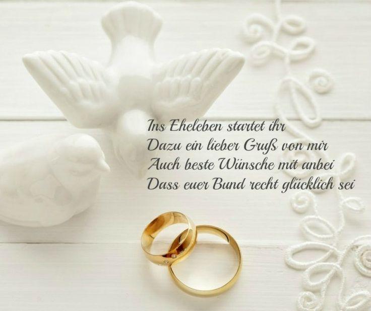 Hochzeitswunsch für eine glückliche Zukunft - Braut