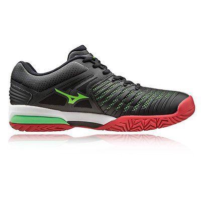 Best Price Mizuno Wave Intense Tour 2 AC Tennis Shoes Men Black