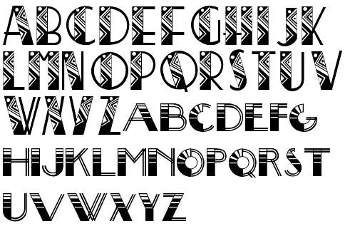 Creative Lettering Styles Alphabet Two Alphabets Drawn By