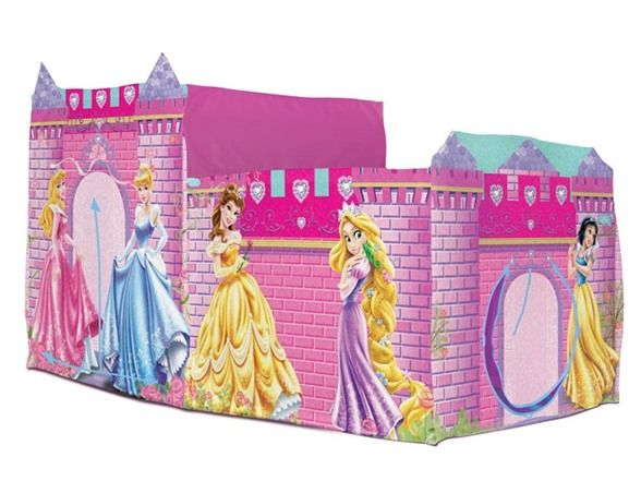 This Disney Pink Princess Castle Bed Topper by Disney is perfect!  sc 1 st  Pinterest & Disney Princess Bed Topper - Play Hut | For Sabina | Pinterest ...