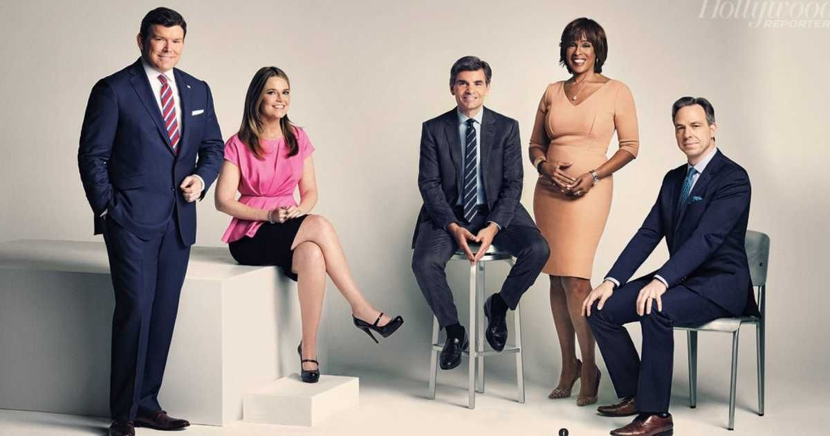 Neither Bret Baier Savannah Guthrie Gayle King George Stephanopoulos Nor Jake Tapper Acknowledged Widespread Left Wing And Partisan George Stephanopoulos News Anchor Savannah Chat