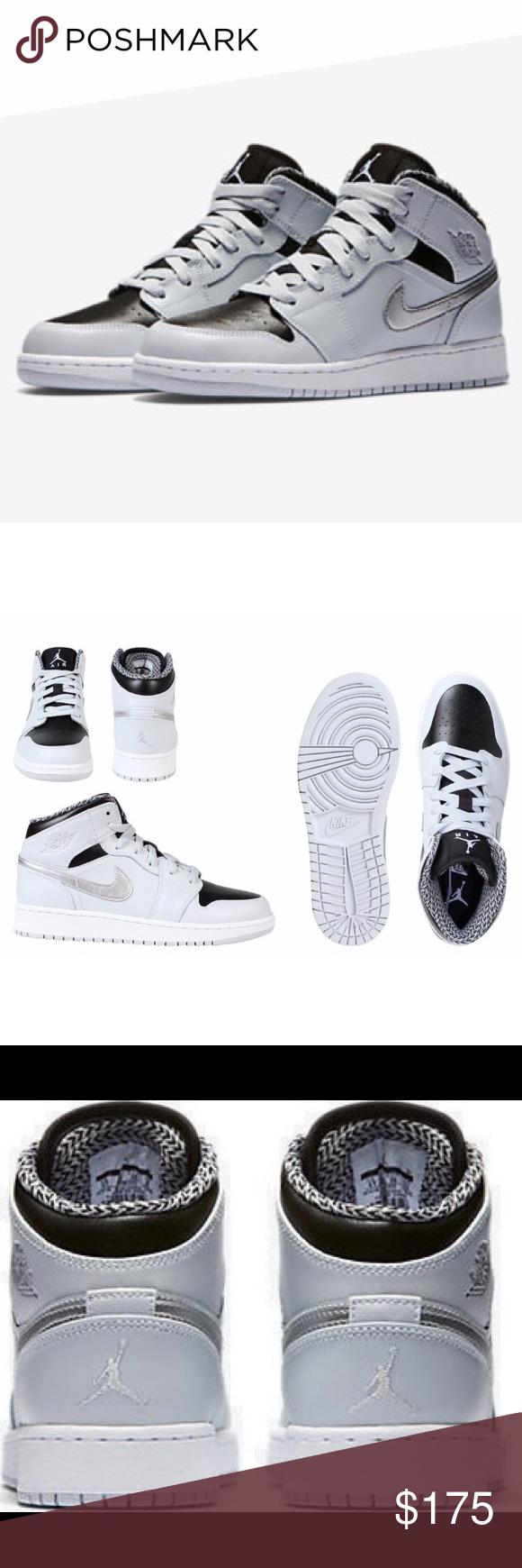 NIKE AIR JORDAN 1 WOMENS SIZE 8 METALLIC SHOES Shoes are a