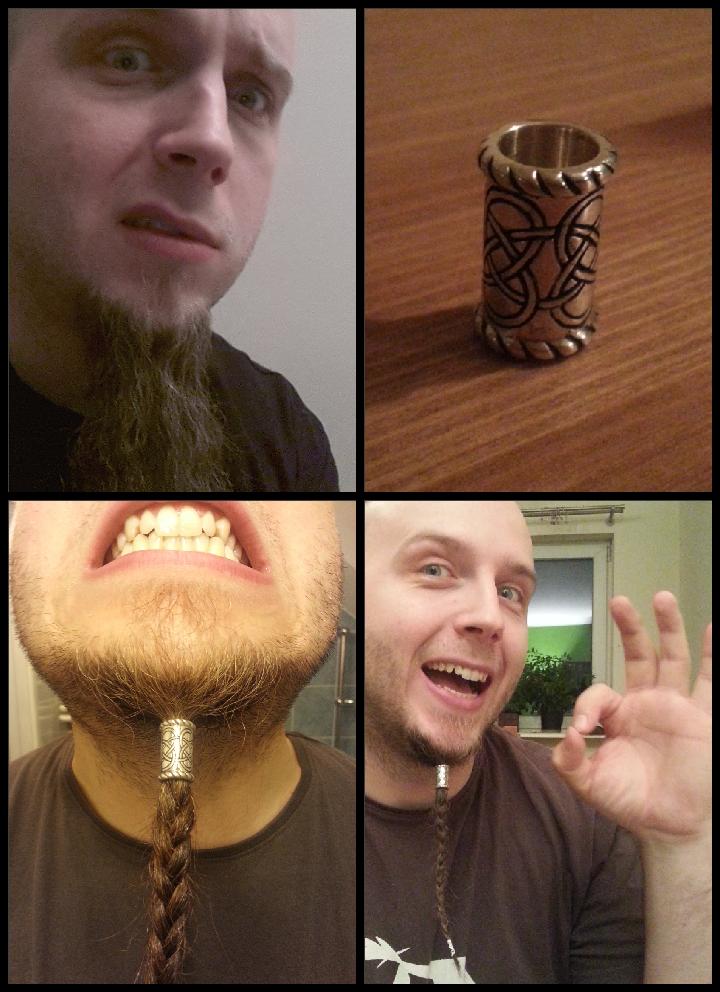 vikinge skæg ringe
