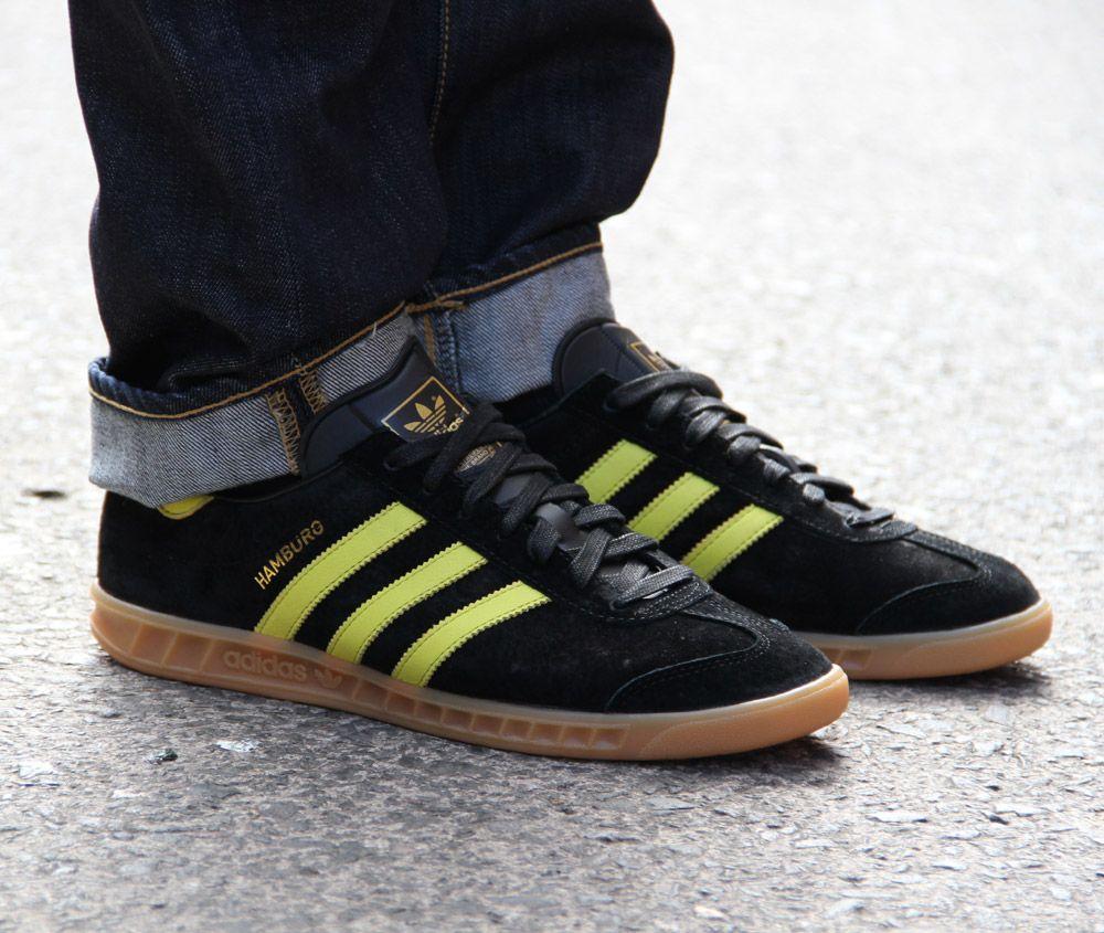 8ec70687aa46 The popular adidas Originals Hamburg  Oslo  colourway returns once again