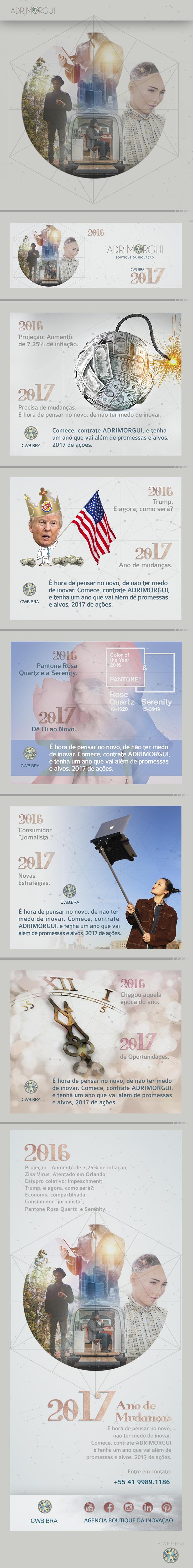 Publicidade on line: Facebook (Ads) e E-mail marketing.  Conceito e Direção de arte: Adriana Guimarães Design: Andre Camargo