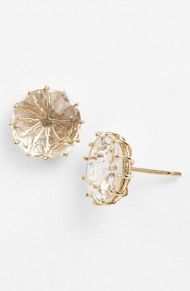 KALAN by Suzanne Kalan Stone Stud Earrings