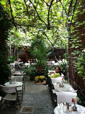 Cloister Cafe In The East Village Still Somehow Have Not Had Lunch Garden