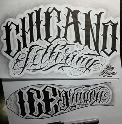Chicano lettering lettering pinterest chicano for Grey tattoo writing