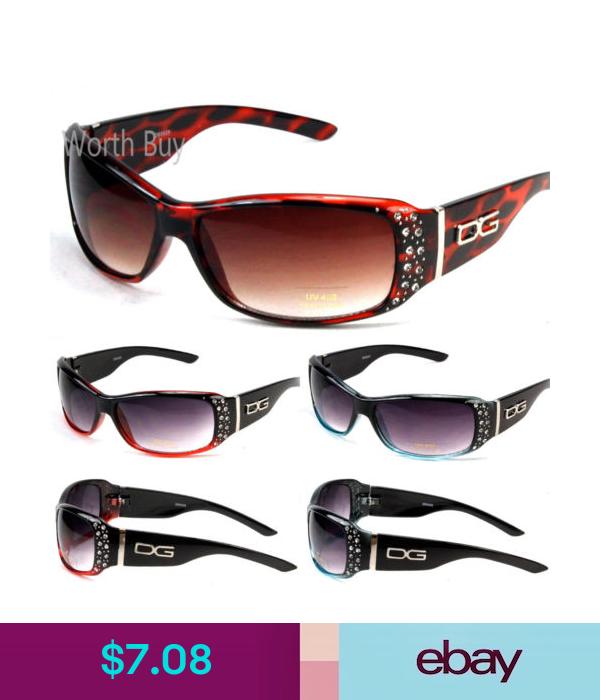 New DG Womens Rhinestones Designer Sunglasses Shades