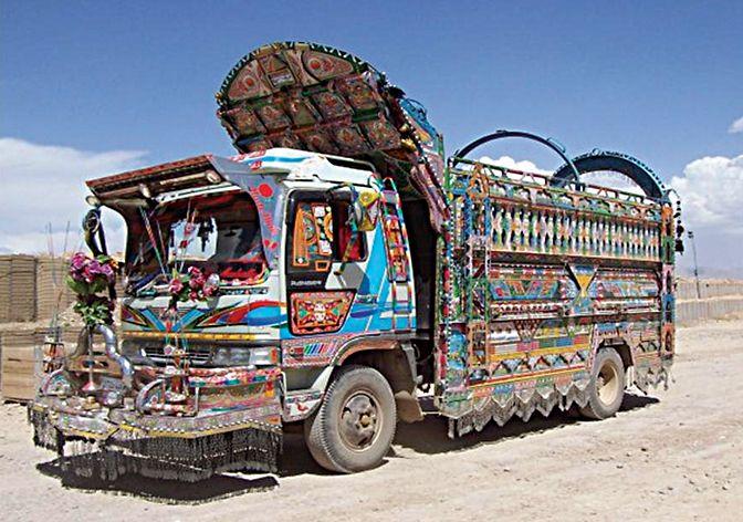 afghan jingle truck
