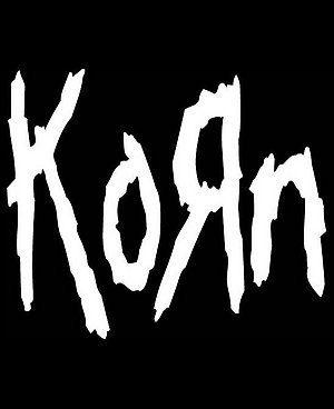 new custom screen printed tshirt korn band by screenprintedtshirts rh pinterest com Nu Metal Band Logos Metal Band Logo Generator