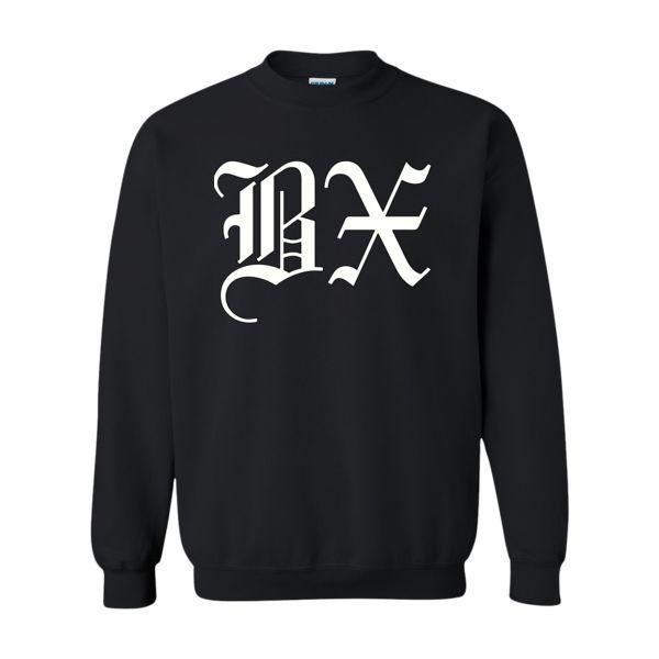 BX Old English Sweatshirt White/Black