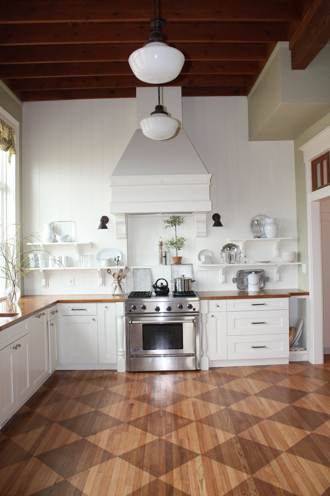 Checkered Kitchen Floor Favorite Pin Friday Kitchen Makeover From 1912 Home Home