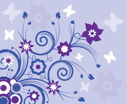 Violet Summer - Vector Graphic by DryIcons | Violet | Pinterest ...