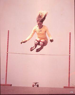 high jump at La Costa! Robin Logan Logan Earth Ski
