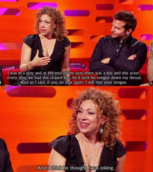 Jason Momoa Graham Norton: Lol. Like Character Like Actress.