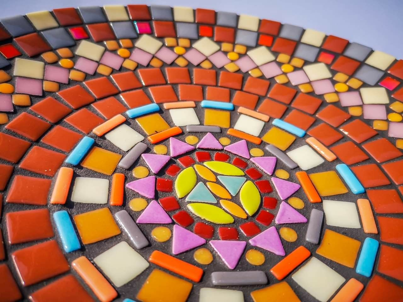 mosaic stained glass tile mosaic art