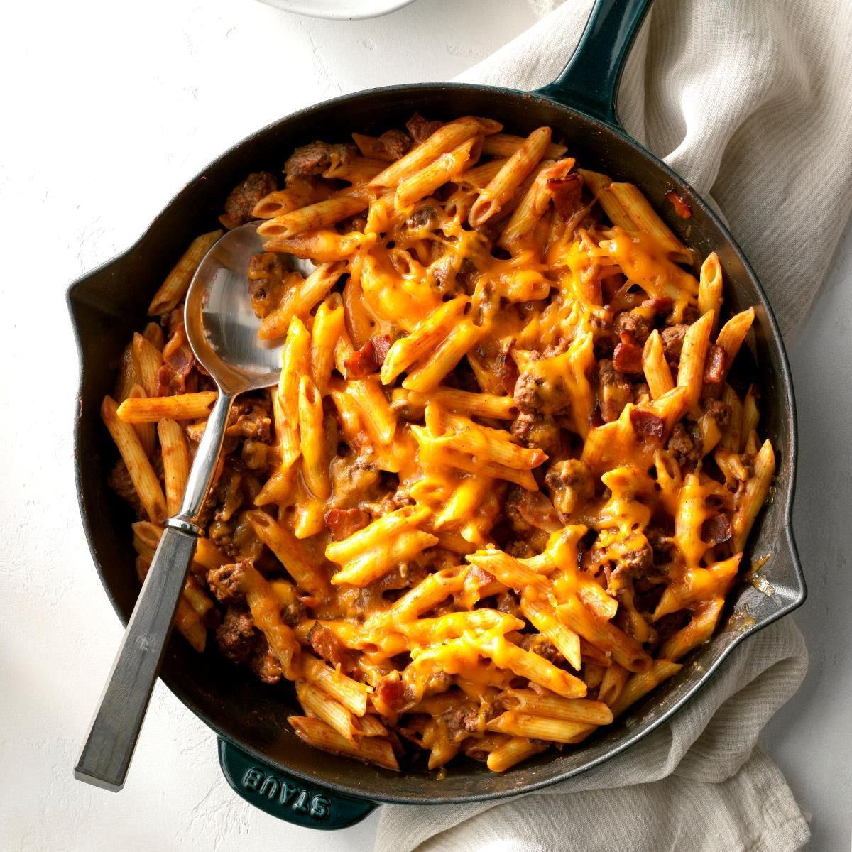 30 Ground Beef Skillet Recipes Taste Of Home Foodeasy Foodrecipesideas Recipesfoodeasy Easyfood In 2020 Beef Dinner Dinner With Ground Beef Cheeseburger Pasta