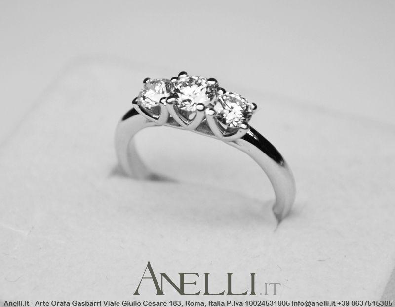 Pin Su Anelli Trilogy Con Diamanti